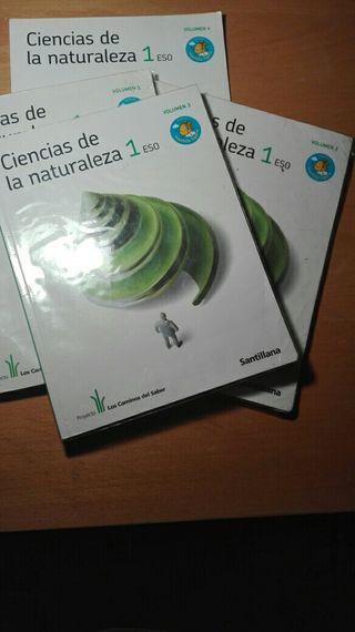 Libros ciencias de la naturaleza 1 eso
