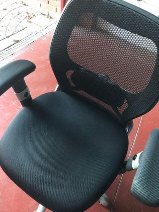 Sillas de oficina reclinables de segunda mano en la ...