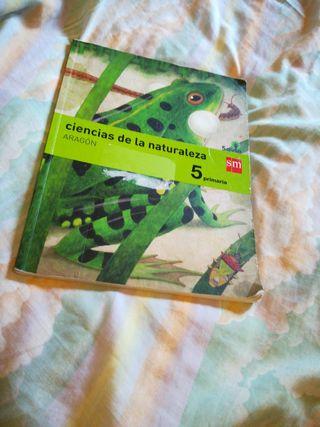 libros 5 primaria ciencias naturaleza