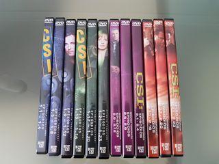 pack lote dvds serie csi Vegas película tv