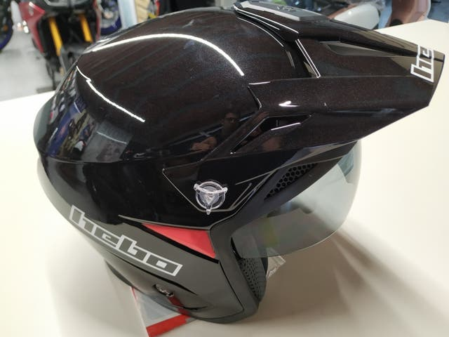 casco trial hebo zone 5 negro
