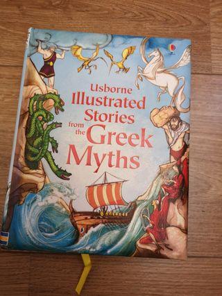 historia ilustrada de los mitos griegos en inglés