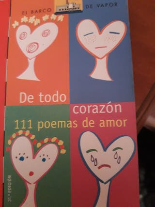 De todo corazon 111 poemas de amor.