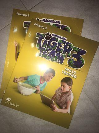 Libros ingles 3o de primaria