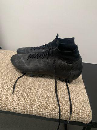 Botas de fútbol Nike mercurial calcetín cama alta