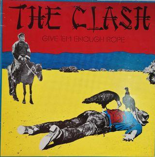 THE CLASH - DISCO VINILO LP EN ESTADO ESPECTACULAR