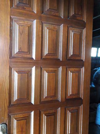 puertas de madera maziza lacadas