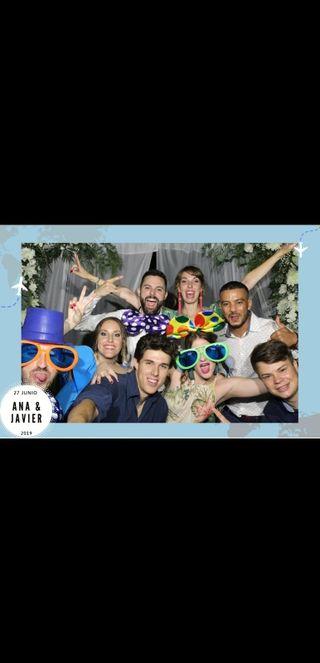 Fotomatón y Photocall para bodas y eventos.
