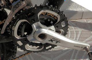 Bici de carbono Merida talla M