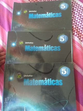 Libros Edelvives Matemáticas 5° primaria