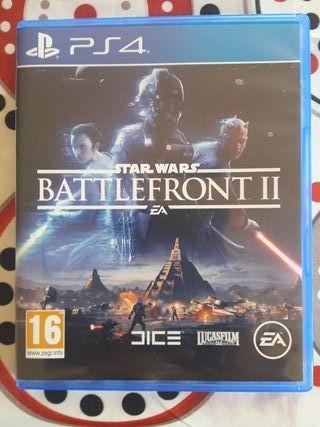 juego de la PS4 Battlefront II
