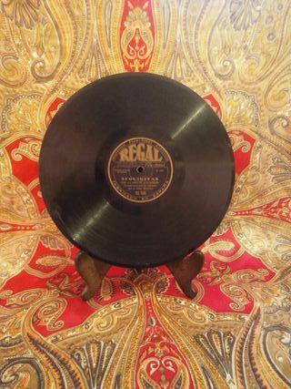 Disco de Pizarra LA NIÑA DE LOS PEINES-78 RPM