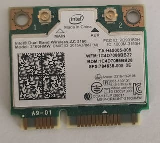 Modulo wifi 802.11ac Mini PCI Express