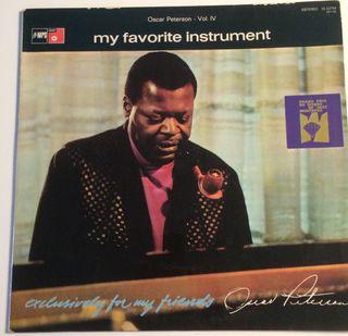 OSCAR PETERSON My favorite instrument Disco Vinilo