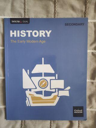 Libro de historia en inglés 3°ESO