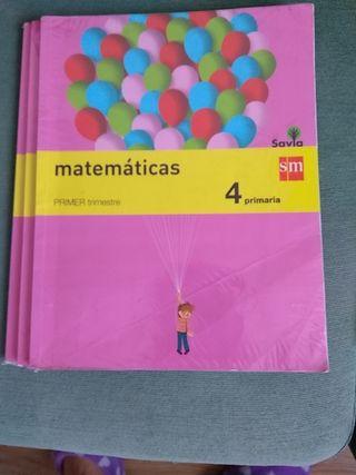 Libros de 4 de primaria.SM.