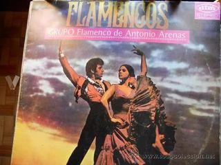 FLAMENCOS- GRUPO FLAMENCO DE ANTONIO ARENAS-LP-1ª