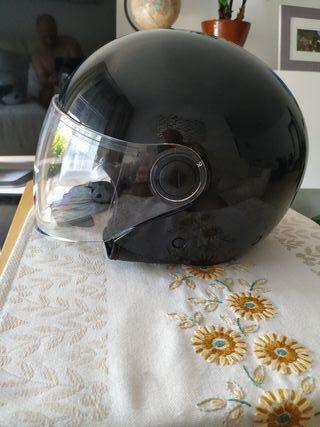 Casco de la moto primavera