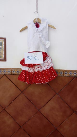 Conjunto De Falda Rociera