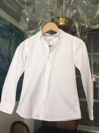 Camisa blanca niño Talla 9-10 años