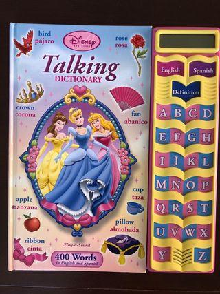 Talking dictionary disney princess
