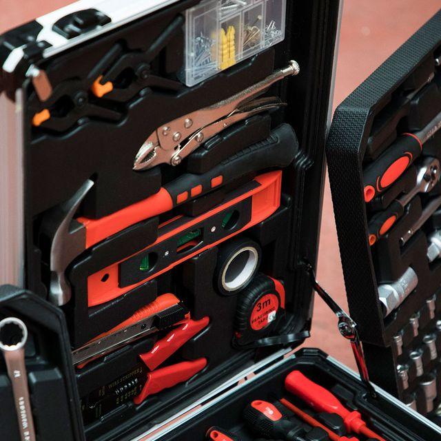 Caja de herramientas Pro maletín 187 piezas NUEVA