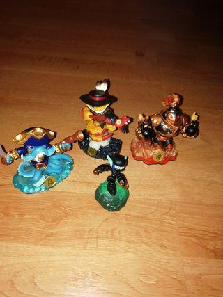 Skylanders Personajes (lote)