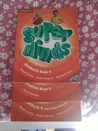 Super Minds 4 Primaria ISBN: 9781107483033