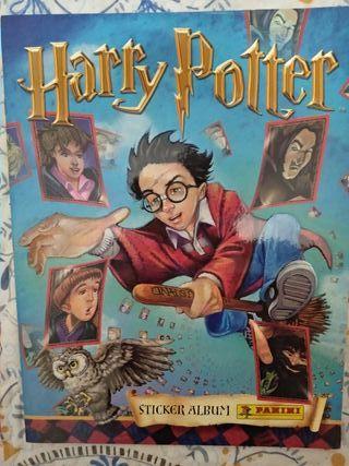 Álbum de cromos completo. Harry Potter.