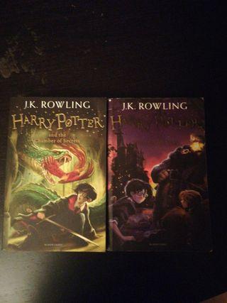 Pack de 2 libros de Harry Potter en ingles