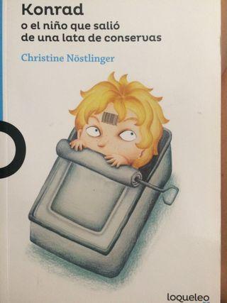 Libro Konrad o El Niño q salió de una lata