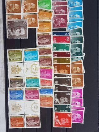 Serie sellos Juan Carlos