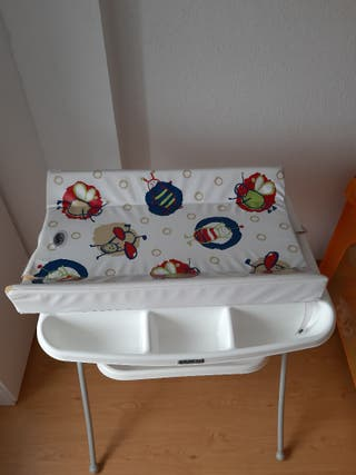 bañera/cambiador bebe