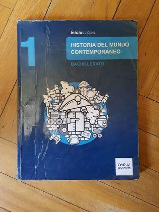 libro de historia del mundo contemporáneo 1 de bac