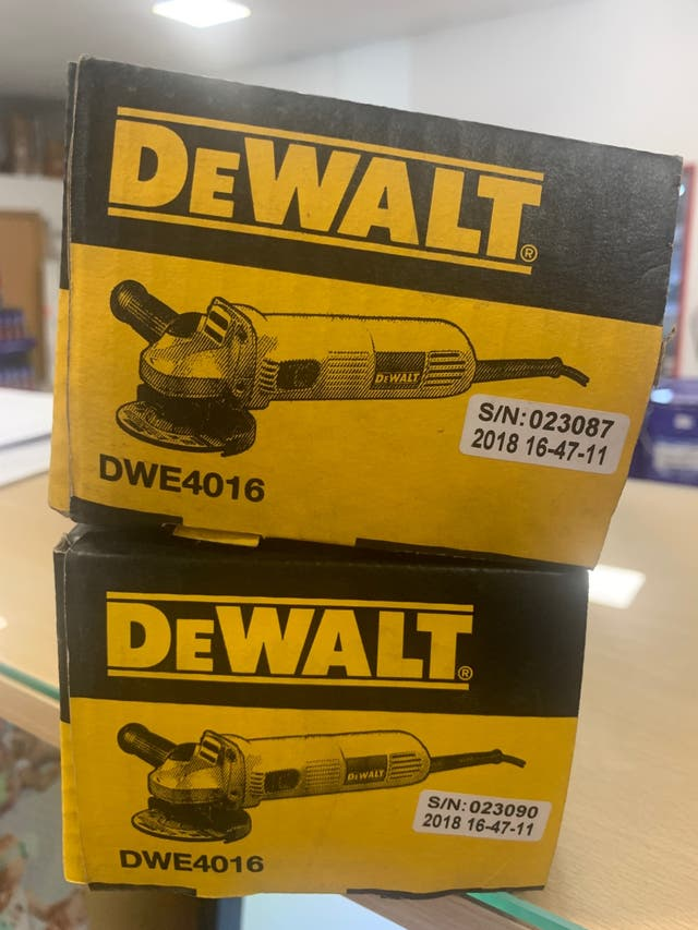 Radial DeWALT