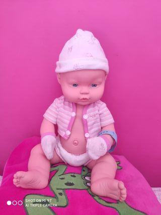 Muñeca Nenuco maternidad de silicona