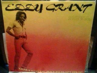 Disco de vinilo lp Eddy Grant Caminando sobre...