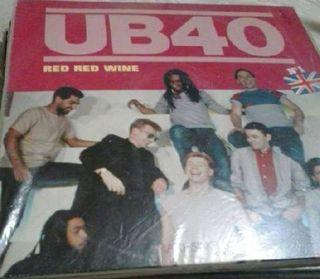 Disco de vinilo UB40 - Red Red Wine 1983 (Reggae)