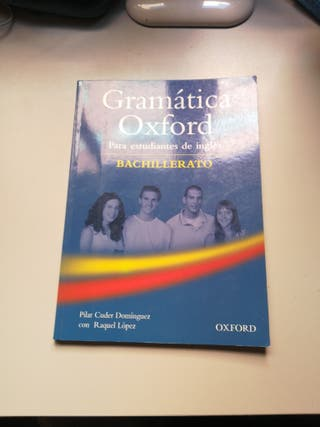 Libro Gramática Oxford BACH
