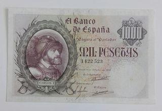 billete 1000 pesetas de 1940