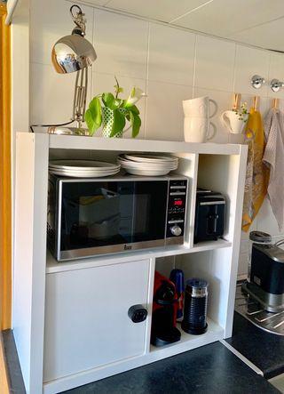 Mueble cocina Ikea kallax color blanco
