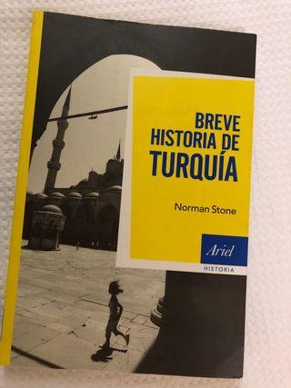 Libro breve historia de Turquía de Norman Stone
