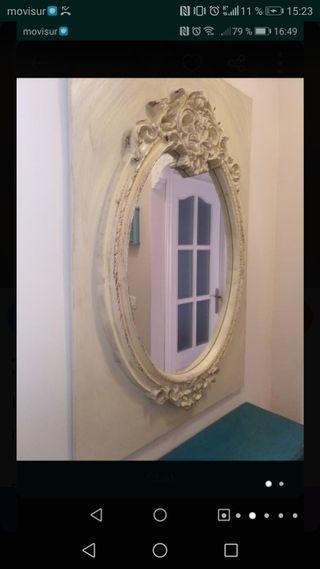 espejo isabelino nuevo