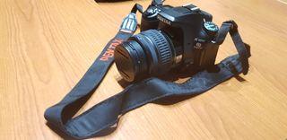 cámara de fotos Pentax K100