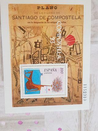 Sello Compostela año 1993