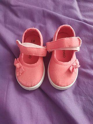 Zapatos playeros bebé niña