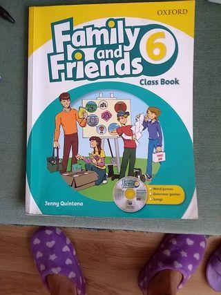 Libro y cuaderno de inglés de 6 de primaria.Oxford