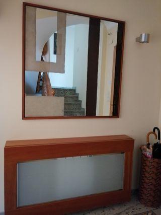 Mueble de entrada tapa-radiadores