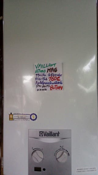calentador Vaillant atmoMAG 11l butano