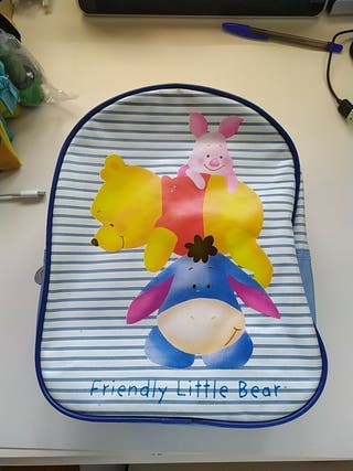 mochila ideal Winnie de Poo